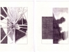 Star Tree Mountain Wave Set 03, 2013, graphite on paper, 10 x 40 inches
